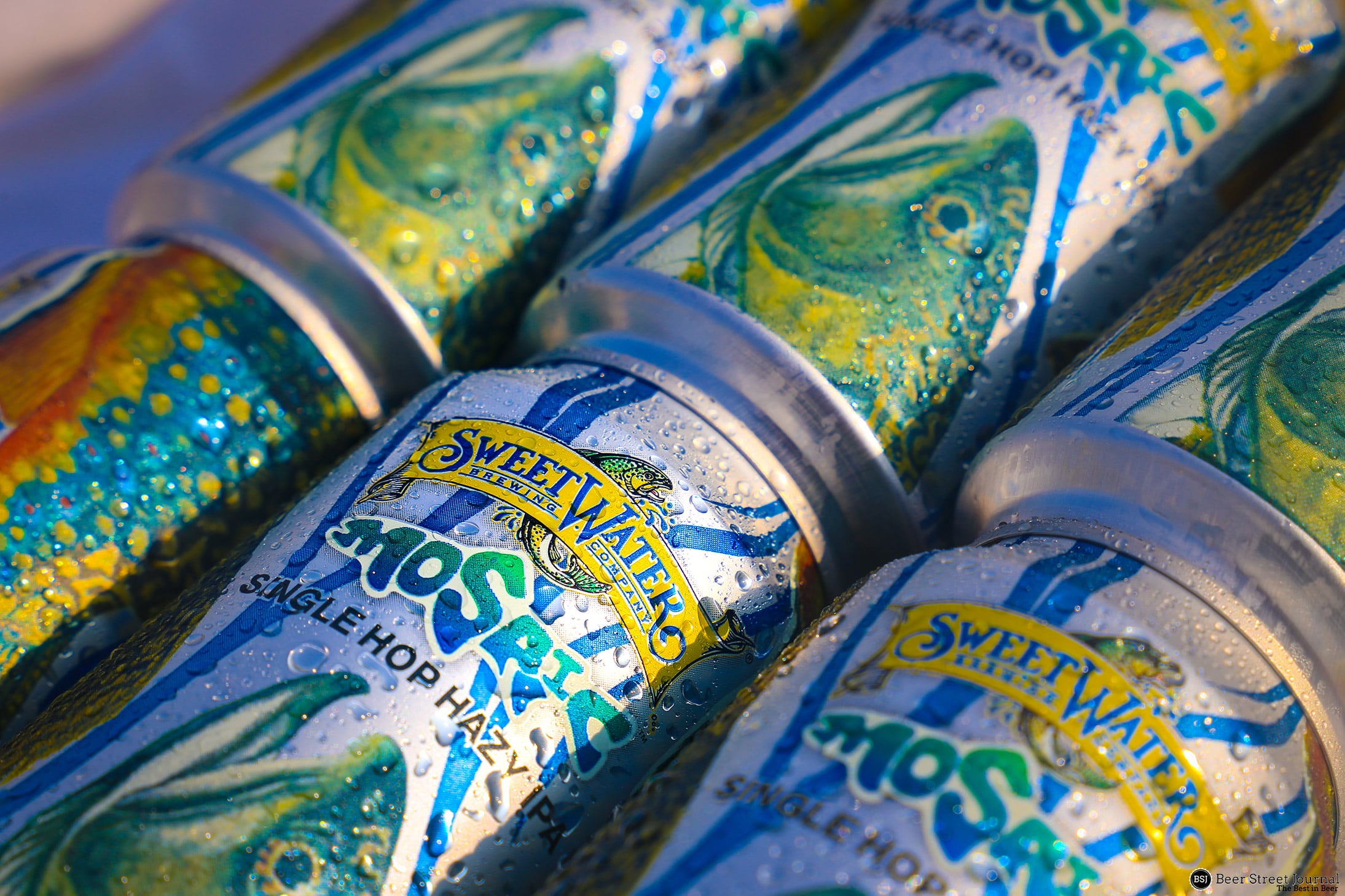 SweetWater Is Releasing Mosaic Single Hop Hazy IPA As A Seasonal This Month