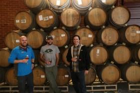 L-R: Chris Meadows, Troy Montrone, Mark Medlin.