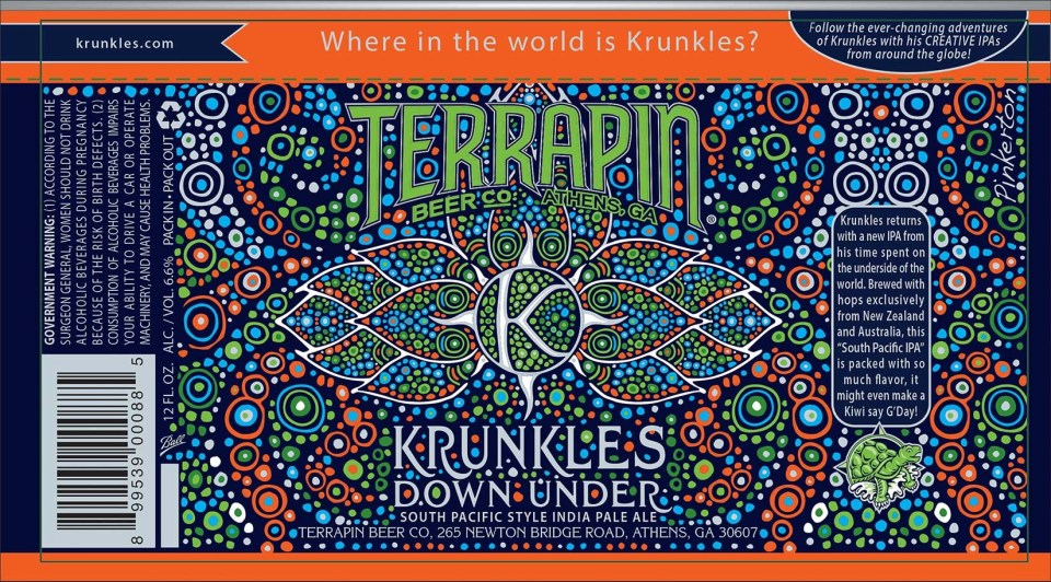Terrapin Krunkles Down Under