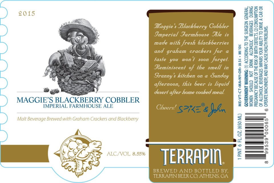 Terrapin Maggie's Blackberry Cobbler