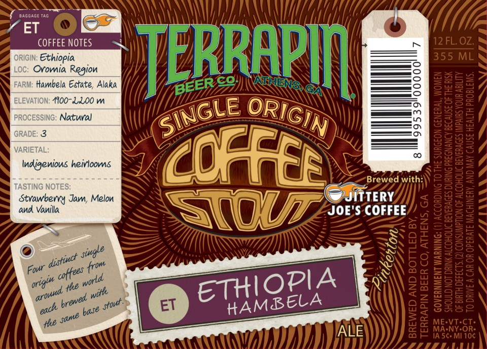 Terrapin Single Origin Coffee Stout Ethiopian