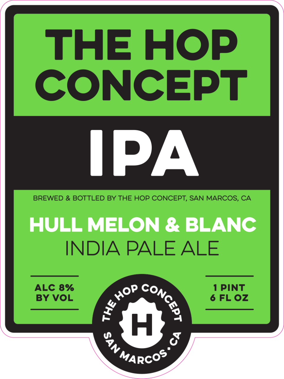 The Hop Concept Hull Melon & Blanc IPA