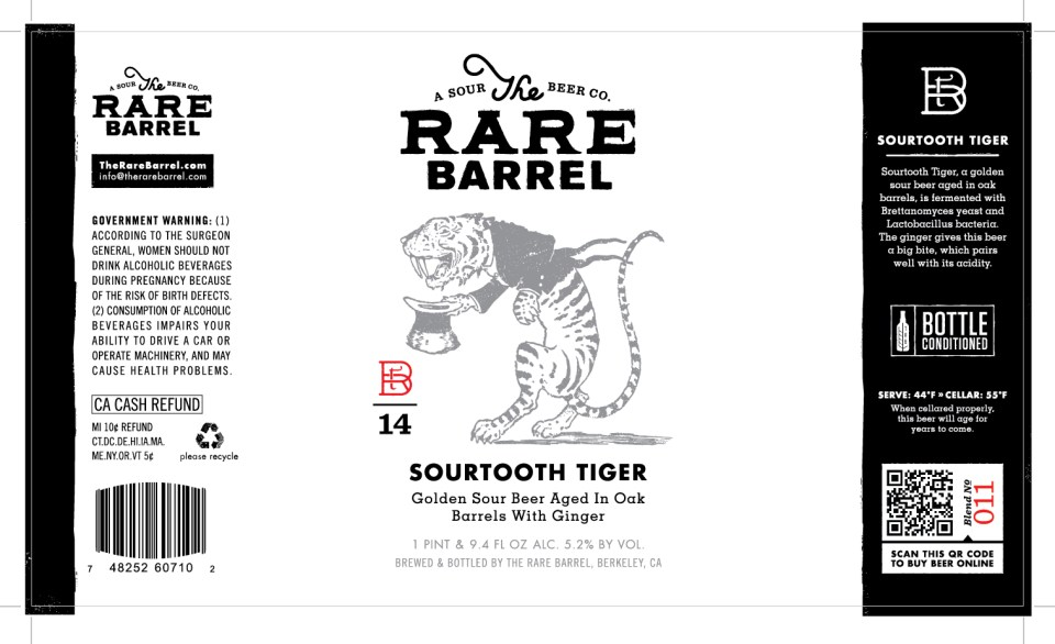 The Rare Barrel Sourtooth Tiger