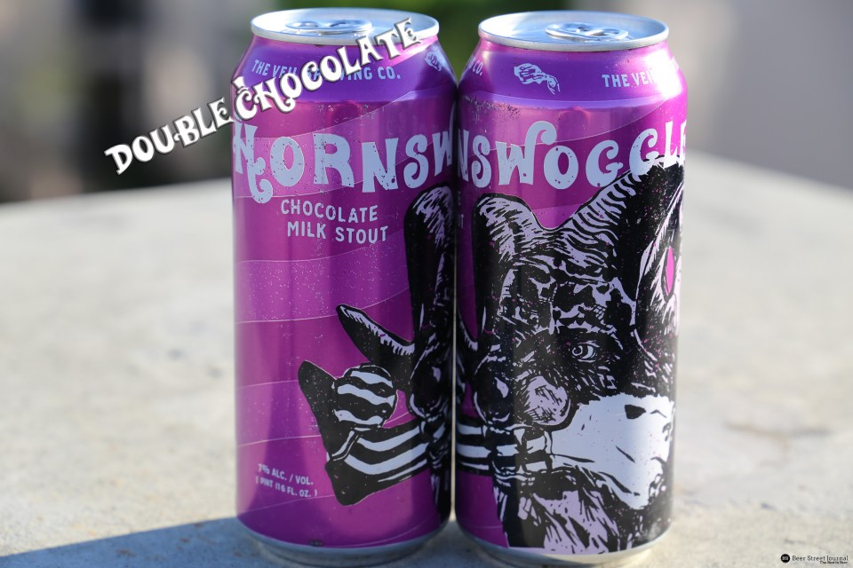 The Veil Brewing Double Chocolate Hornswoggler Milk Stout can