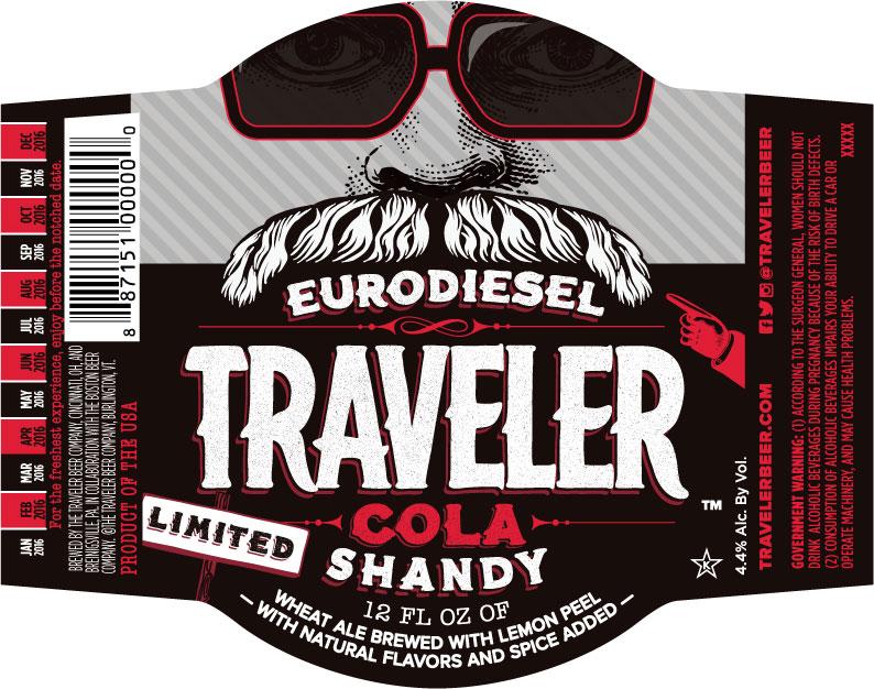 Traveler Cola Shandy