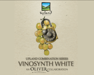 Our friends at Oliver Winery have had a hand in our Sour Ale program since the beginning. The first oak barrels acquired by Upland were purchased from Oliver. Now, many years later, we are excited to present this collaboration between friends that represents our Sour Program full circle. VinoSynth White is 100% Sour Reserve aged on locally grown Vidal Blanc grapes. Vidal Blanc is a French varietal with hints of tropical fruit flavor, commonly utilized to develop ice wines. Our Sour Reserve lends itself wonderfully to enveloping the acidity of the grape with notes of lactic acid, and allows the polite pineapple and grapefruit character of Vidal Blanc to shine on the palate.