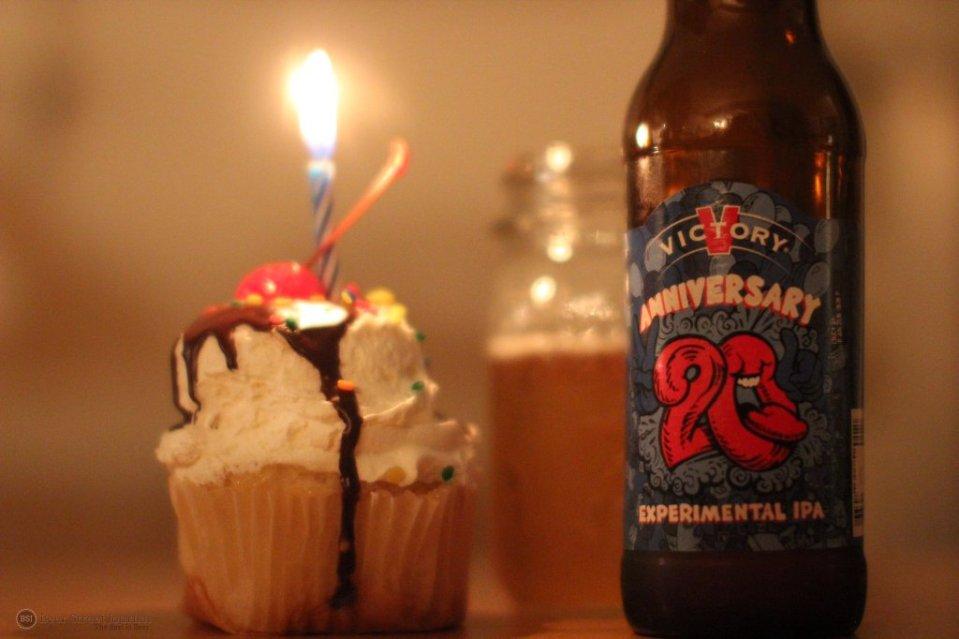Victory 20th Anniversary IPA bottle