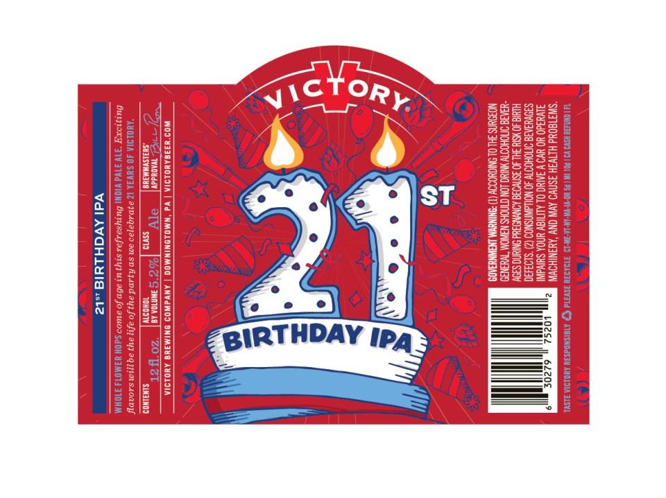 Victory 21st Birthday IPA