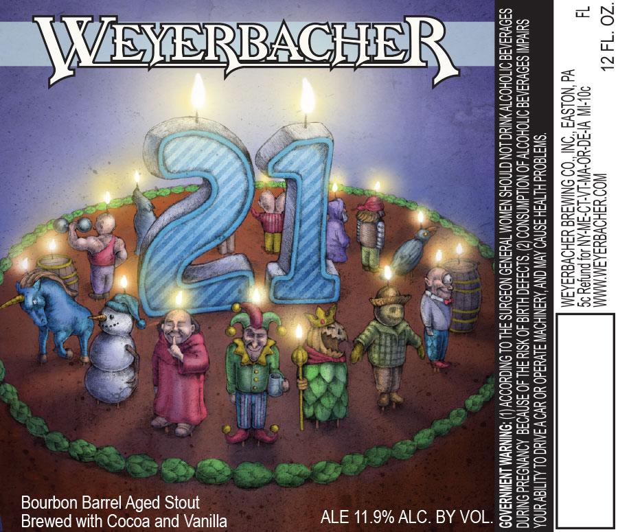 Weyerbacher 21