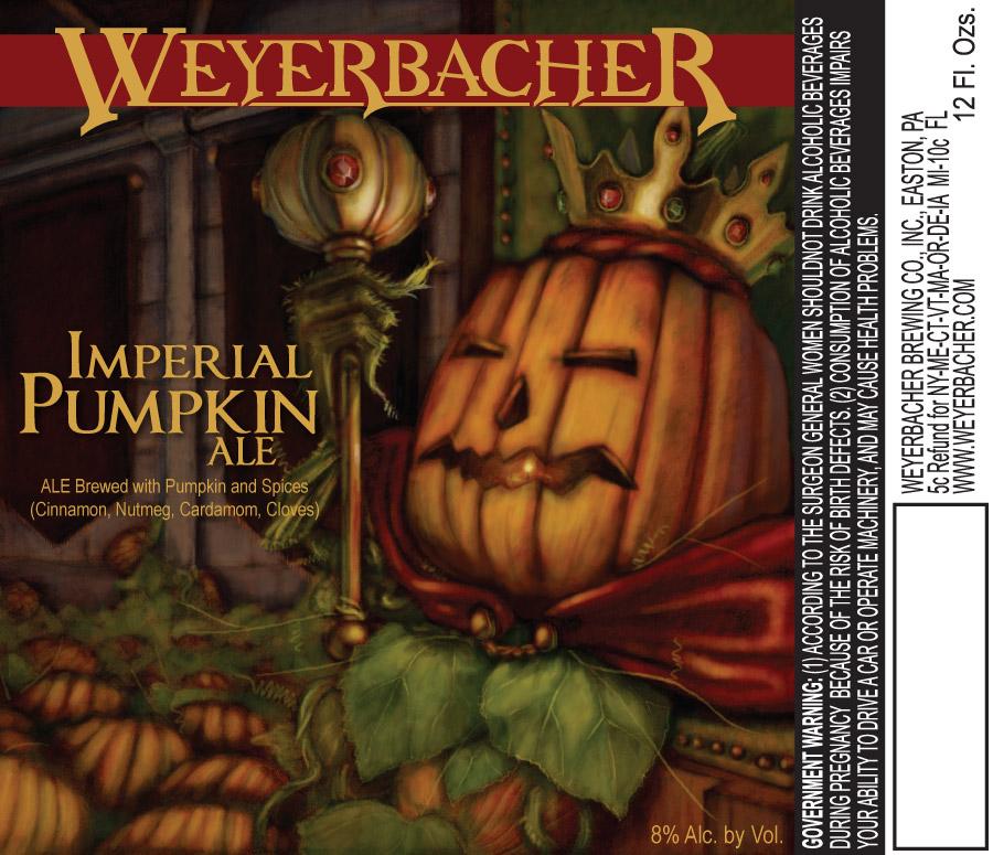 Weyerbacher Imperial Pumpkin