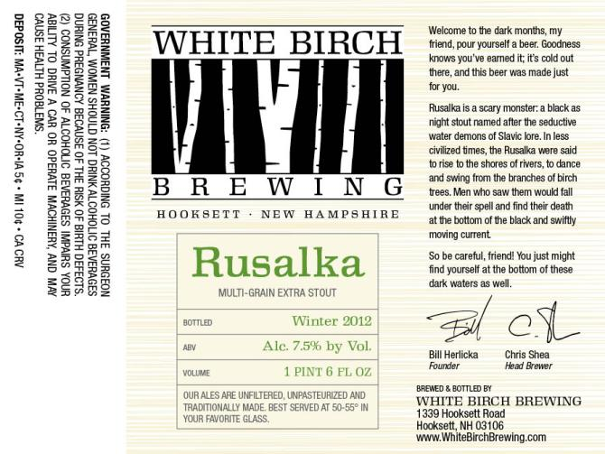 White Birch Rusalka
