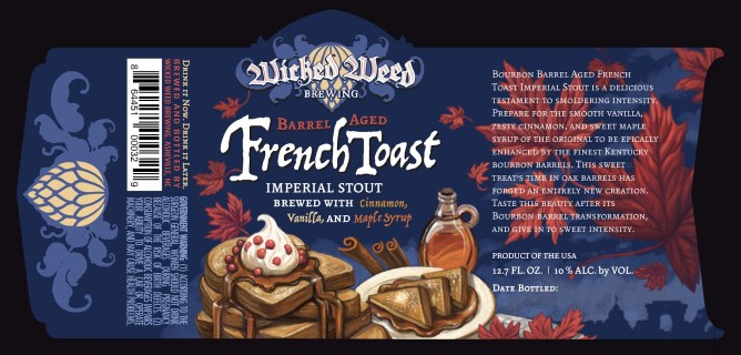 Wicked Weed Barrel Aged French Toast