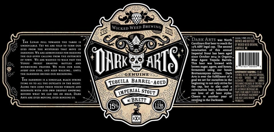 Wicked Weed Dark Arts 2015