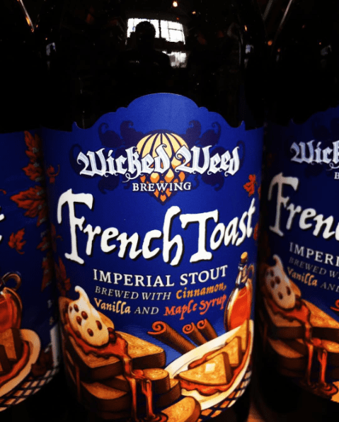 Wicked Weed French Toast