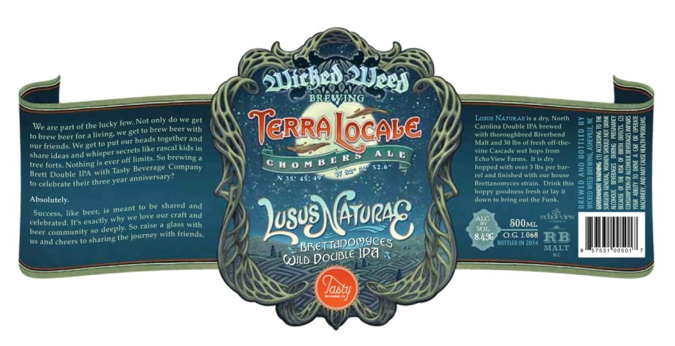 Wicked Weed Lusus Naturae