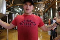 Jake, the brewery's suave brewer.
