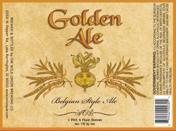 Wild Onion Golden Ale