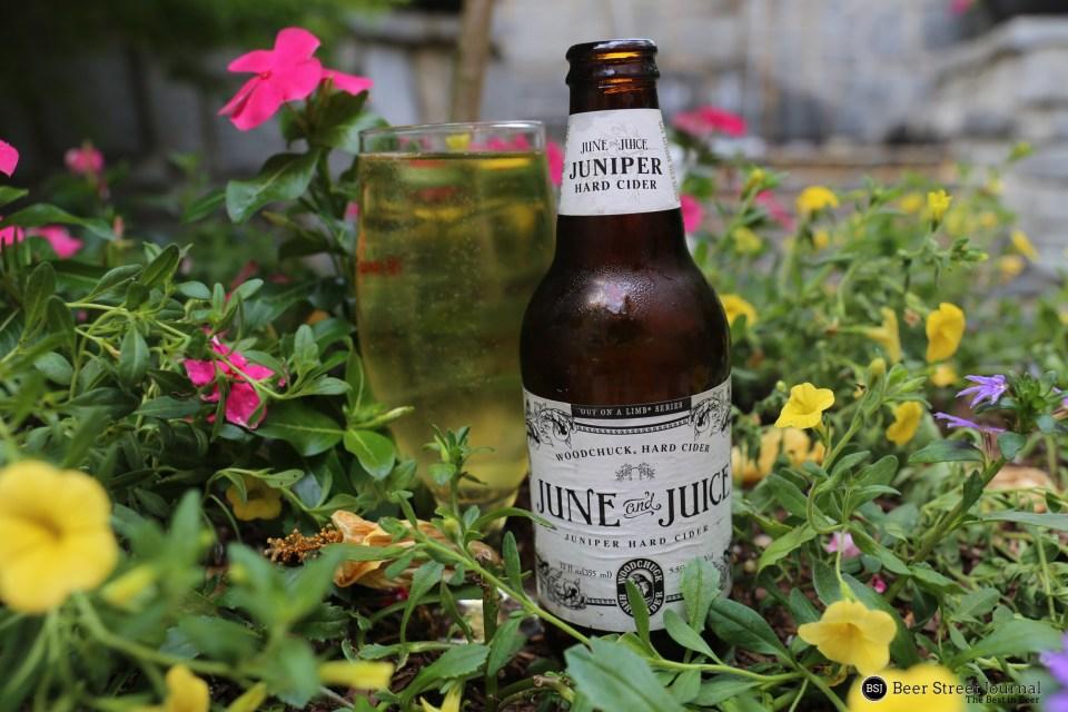 Woodchuck June & Juice bottle