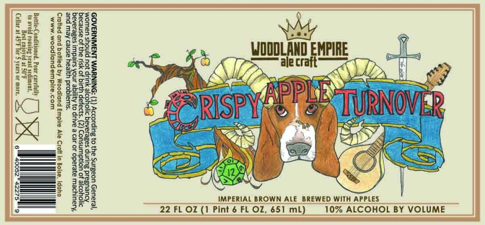 Woodland Empire Crispy Apple Turnover