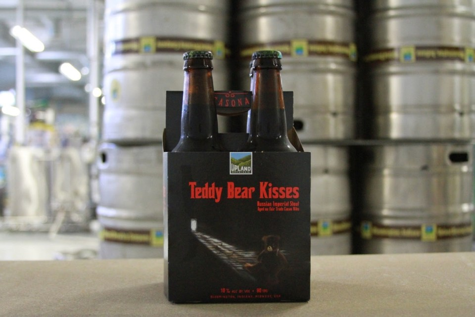 Upland Brewing Teddy Bear Kisses