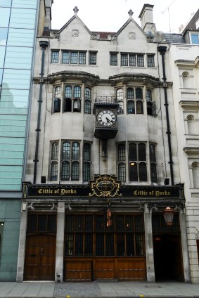 Cittie of Yorke, Holborn. Photo: Flickr user Ewan-M