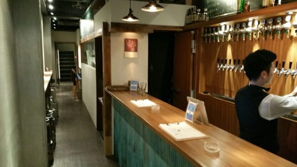 Beer House Craft Man Standing area
