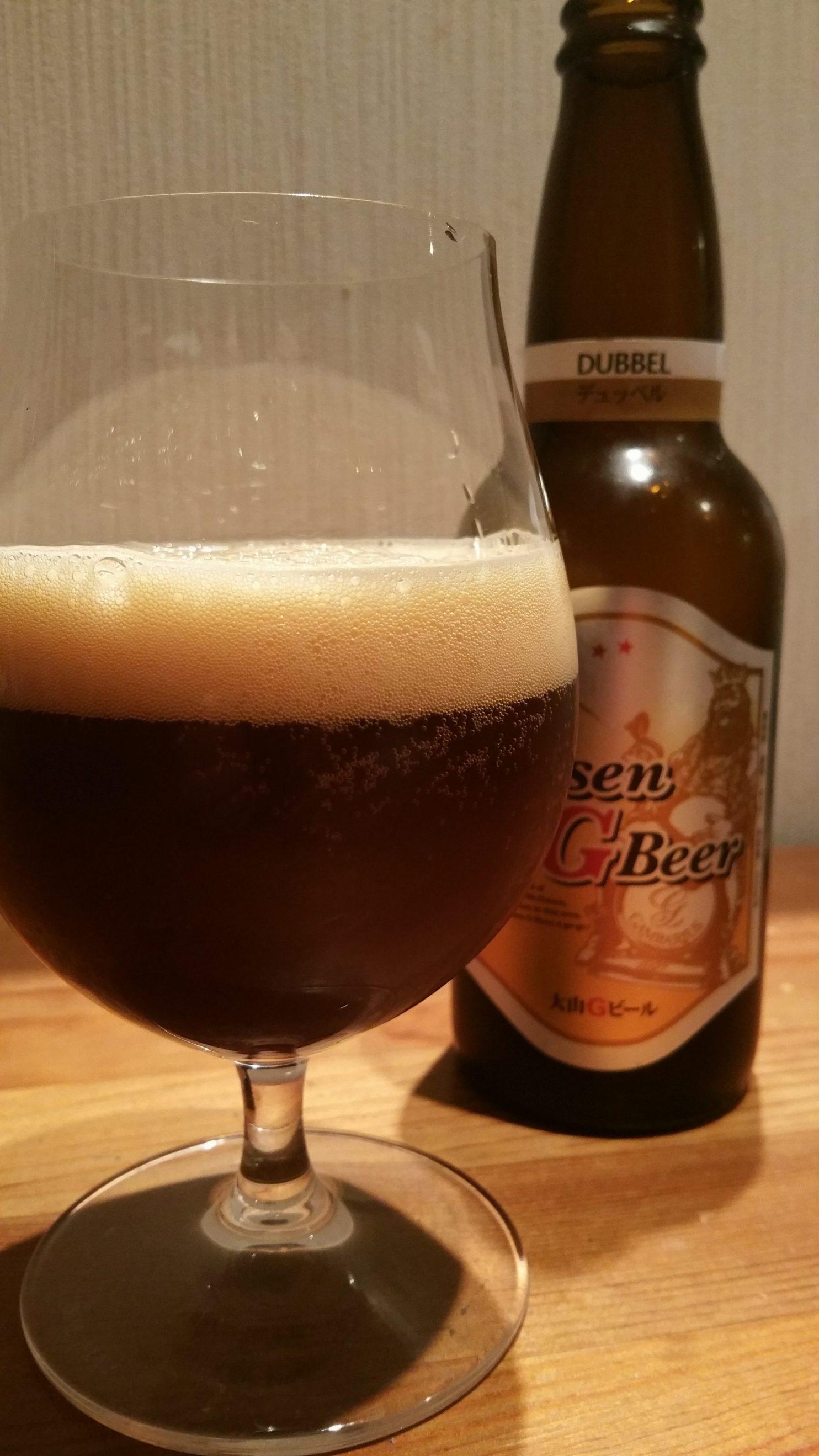 Daisen G Beer Dubbel 大山Gビールデュッベル
