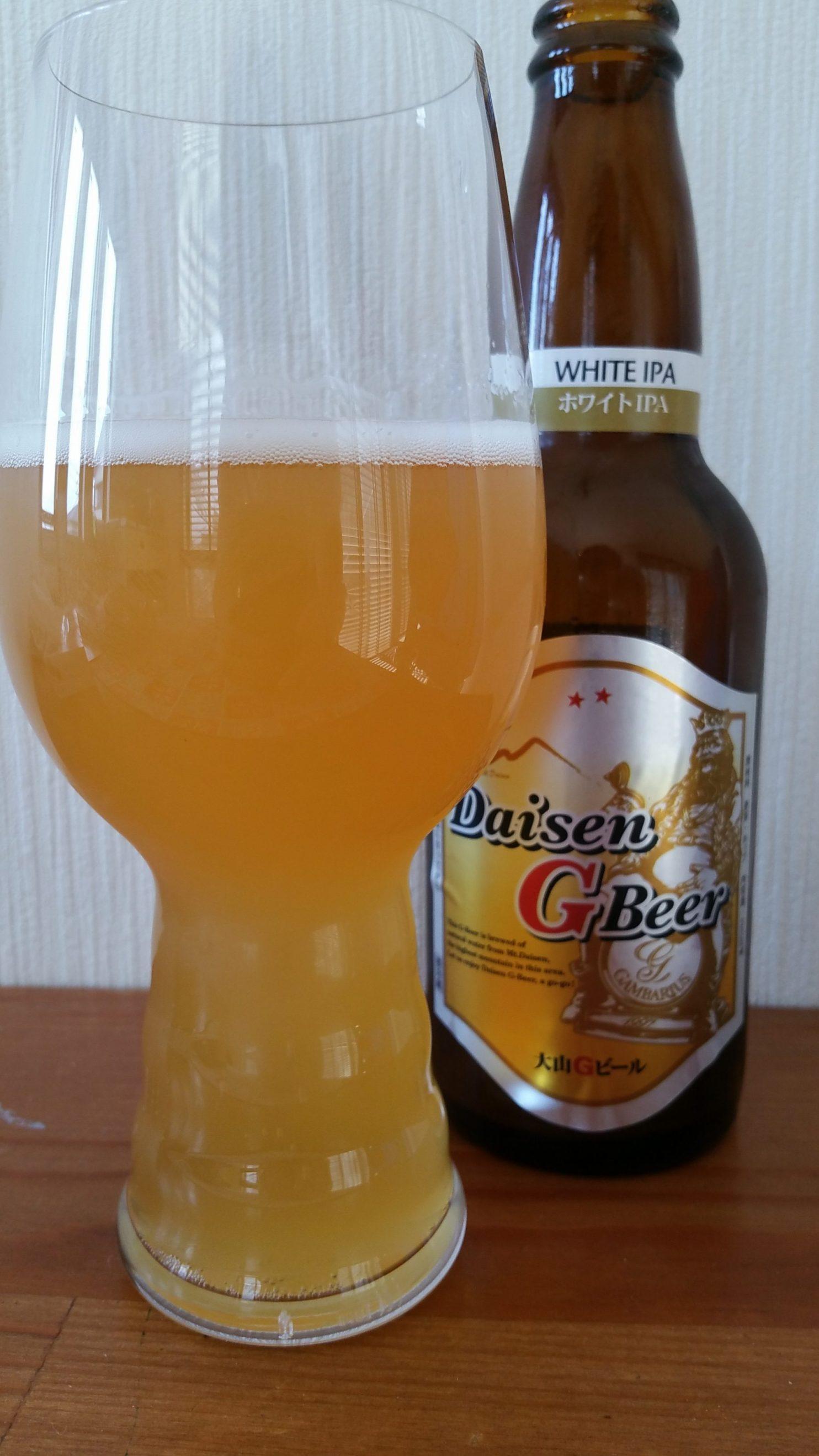 Daisen G Beer White IPA