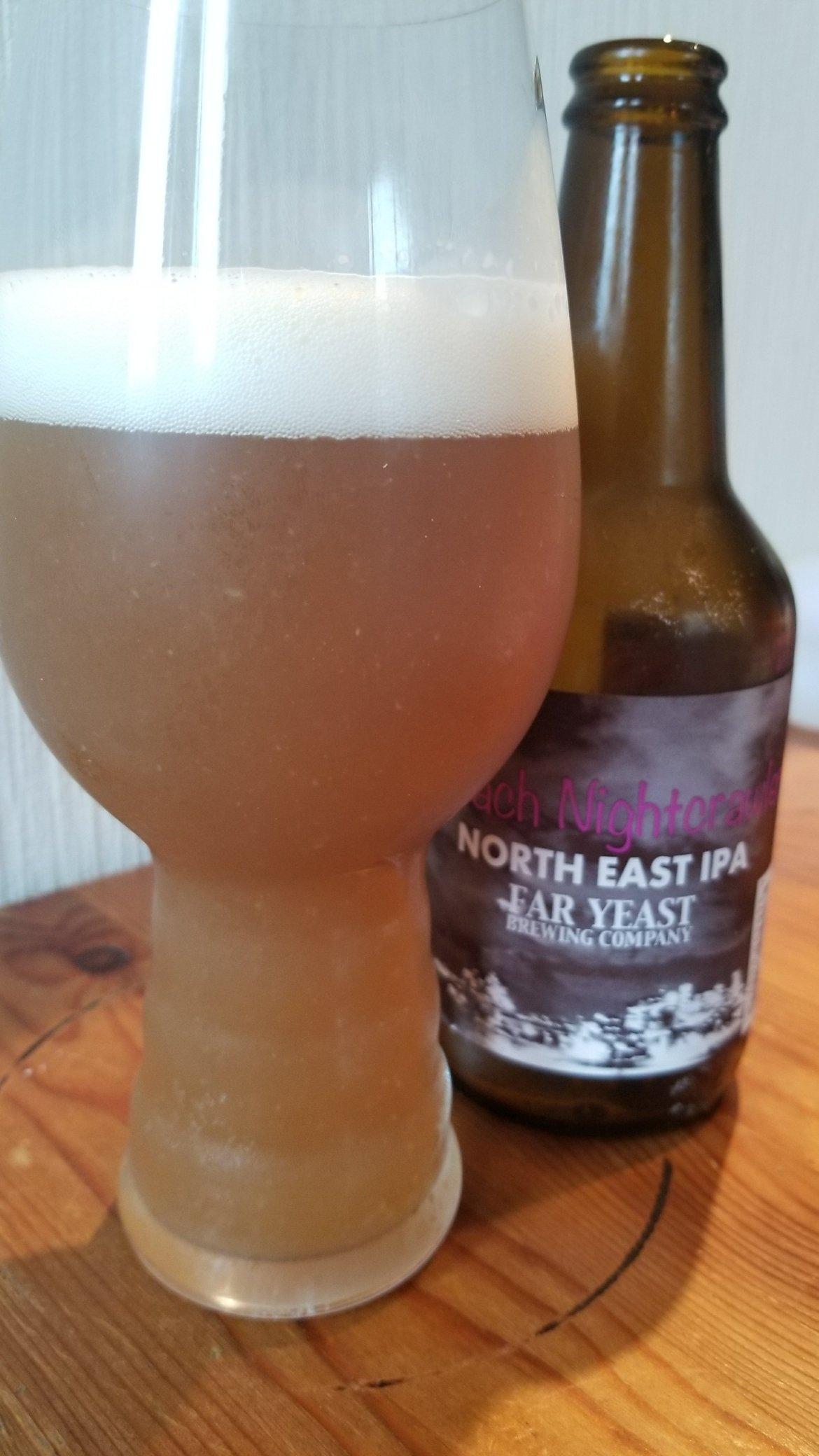 Far Yeast Peach Nightcrawler NE IPA ファーイースト ピーチ ナイトクローラー NEIPA