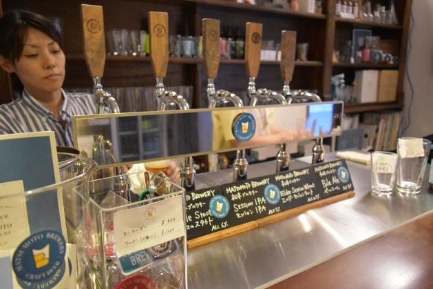Matsumoto Brewery Taproom Beer 1