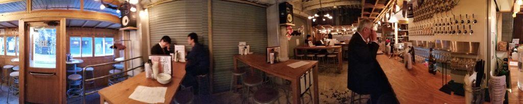 Craft Beer Bar iBrew Akihabara Inside ・クラフトビアバル IBREW秋葉原店内