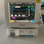 Philips IntelliVue MP30 Anästhesiemonitor mit M3002A,M1013A_Gasmodul und Zubehör