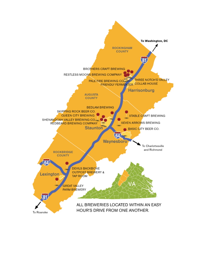 Image result for shenandoah valley beer passport