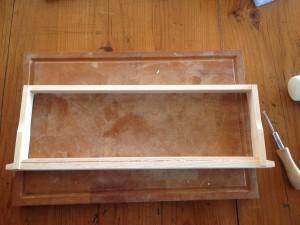 A finished frame