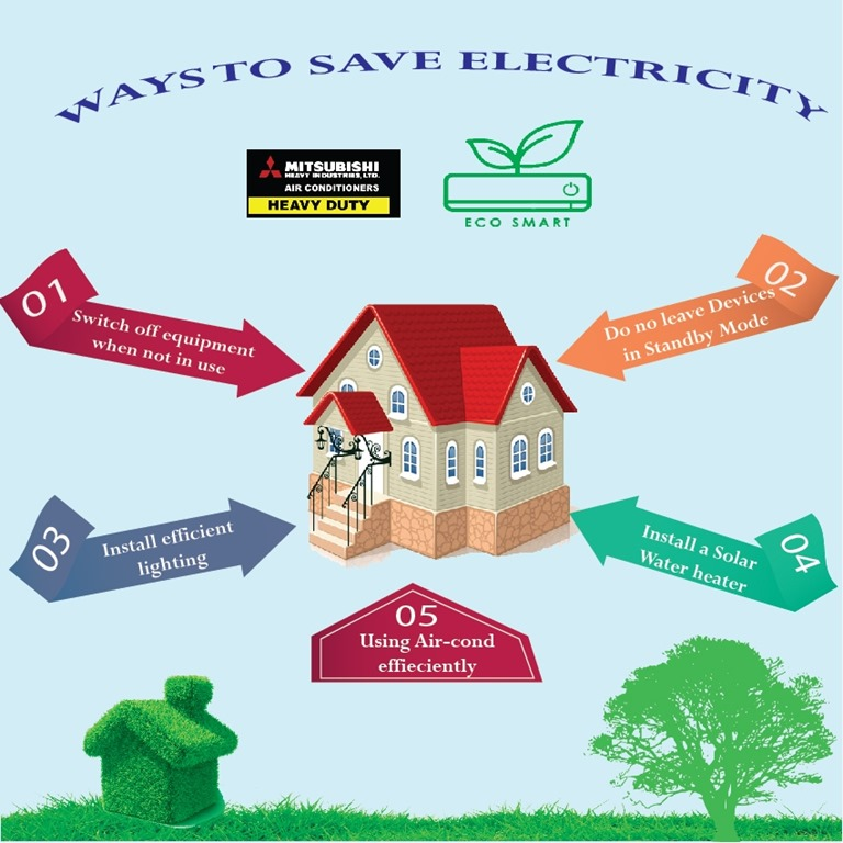 WAYS TO SAVE ELECTRICITY Brunei Aircond Blog