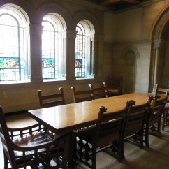Wrought Iron Dining Chairs Camp With Footrest Wander Through The Nationality Rooms At University Of Pittsburgh's Cathedral Learning And ...