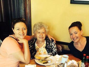 Girls w Grandma LA