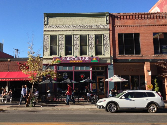 Mountain Sun Pub & Brewery @ Boulder