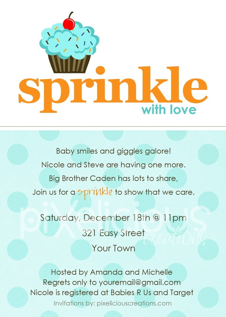 Baby Shower Invitation Wording For A Boy | FREE Printable Baby Shower  Invitations Templates