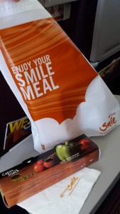 Flying with Thai Smile