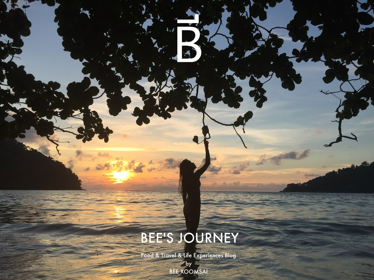 BEE'S JOURNEY FOOD TRAVEL LIFESTYLE TAGLINE