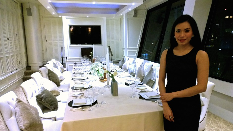 Private Room which accommodates up to 16 persons.