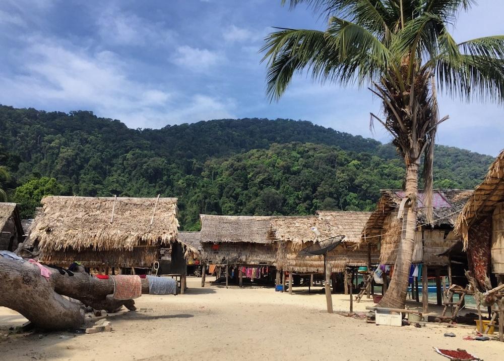 Moken Village, Surin Island, Thailand หมูเกาะสุรินทร์ หมู่บ้านมอแกน