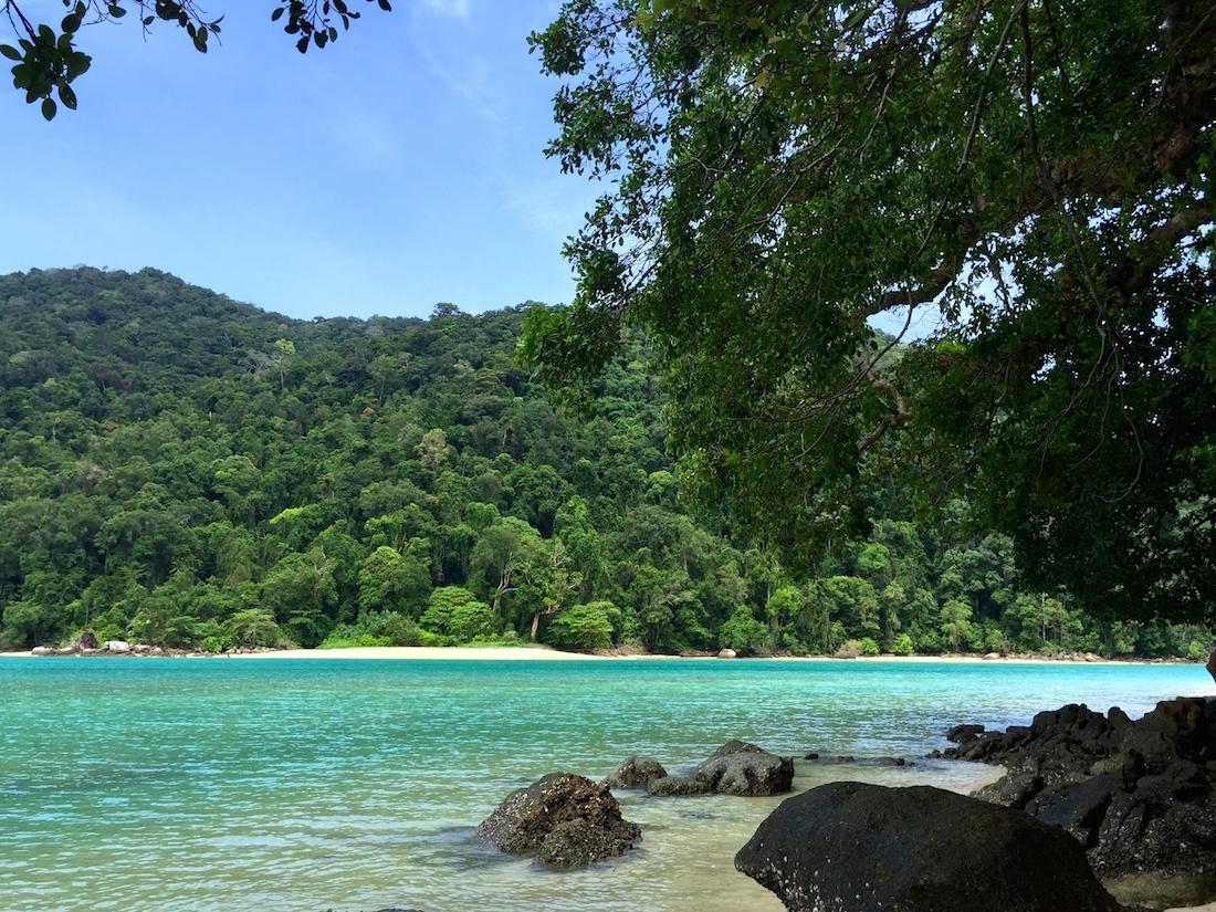 Ao Chong Kaad, Surin Island, Thailand อ่าวช่องขาด หมู่เกาะสุรินทร์