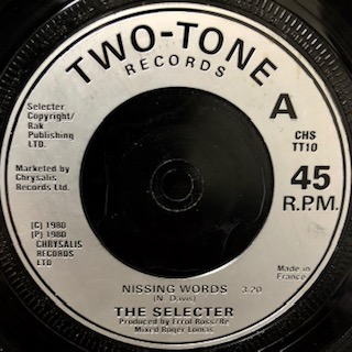 Selecter / Missing Words