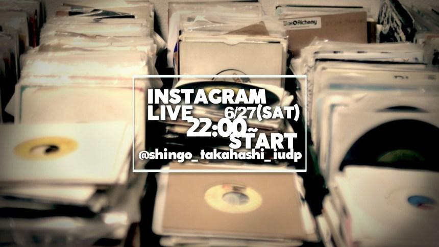 ig live instagrama dj 配信