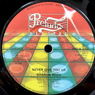 "Sharon Redd / Never Give You Up (7"")"