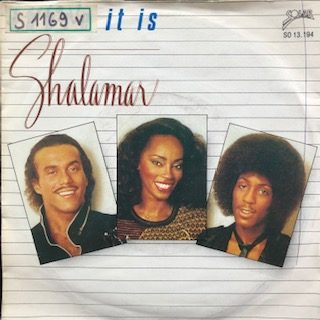 "Shalamar / There It Is (7"")"