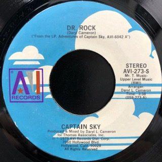 """Captain Sky / Dr. Rock (7"""")"""