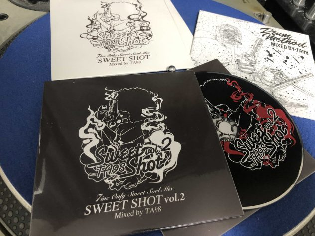 MIX CD TA98 / SWEET SHOT vol.2